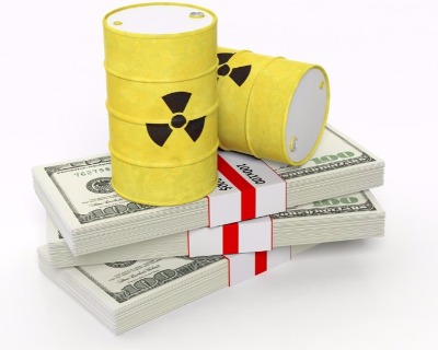 Nuclear waste with an Opic wrap