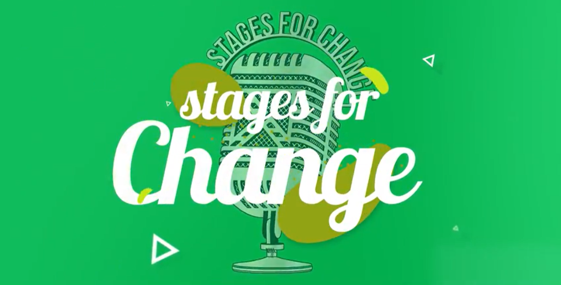 Stages for Change: 'Life only matters if you can be a blessing to somebody else - I have the chance to do that now'