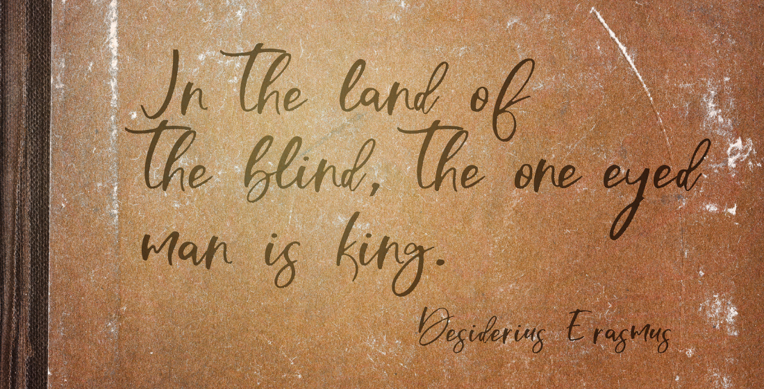 In the land of the blind, the one-eyed man is king: The opaque world of international trade
