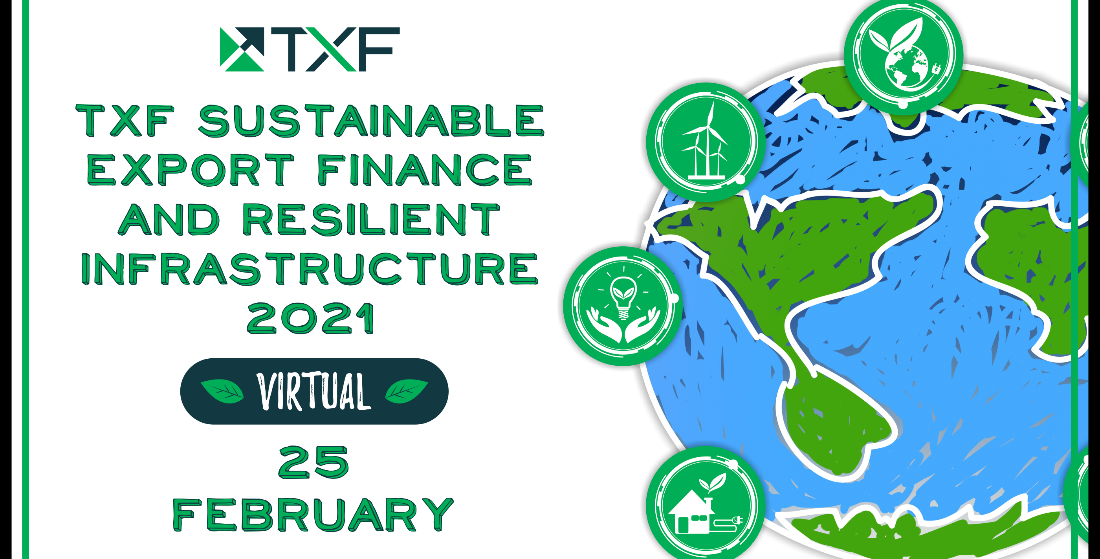 VIRTUAL EVENT: Sustainable Export Finance and Resilient Infrastructure