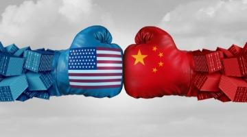 China-US trade punches