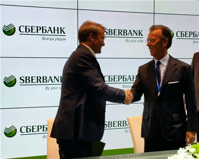 Sberbank and SACE sign cooperation agreement