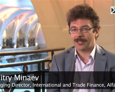 ECA 2014 - Interview with: Dmitry Minaev,Managing Director, International and Trade Finance, Alfa-Bank