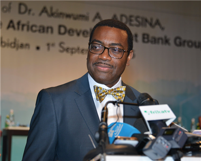 Adesina sworn in as new president of African Development Bank