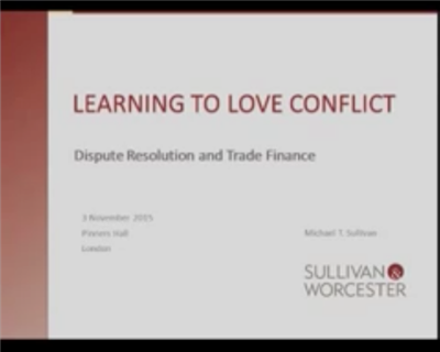 Learning to love conflict