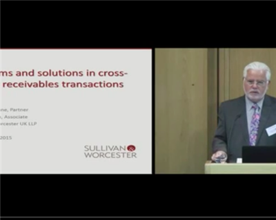 Problems and solutions in cross border receivables transactions