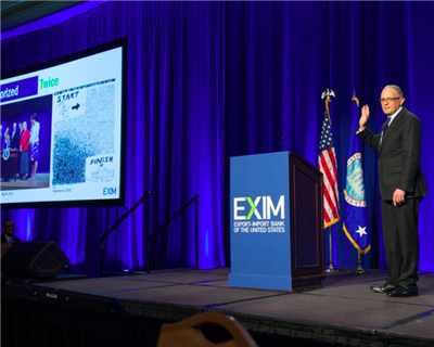 Emotional Hochberg thanks exporters for backing Ex-Im