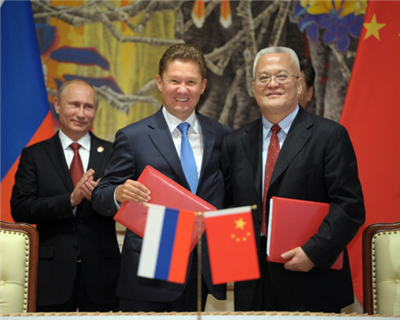 Gazprom signs historic deal with China