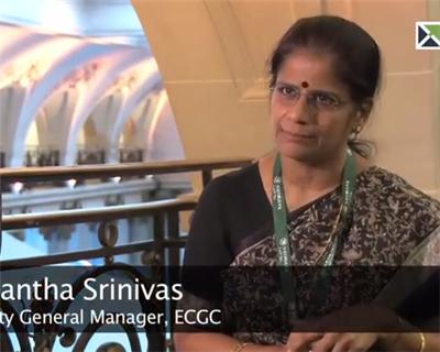ECA 2014 - Interview with: Vasantha Srinivas, Deputy General Manager, ECGC and Irene Dsouza, Senior Manager, ECGC.