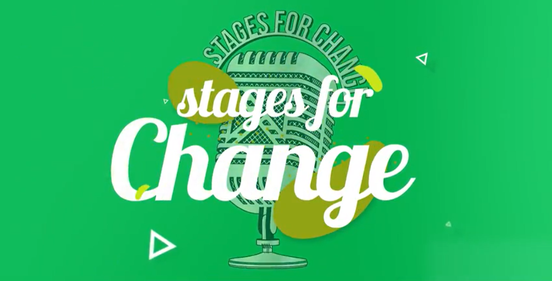 Stages for change: Berkelaar on the gravity of cheering on change