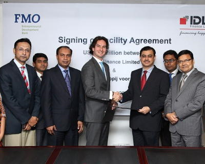 FMO signs credit facility for Bangladeshi IDLC Finance