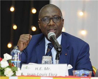Jean-Louis Ekra highlights Afrexim's crucial role in value-added agri projects