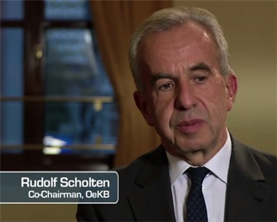 Video Interview: Rudolf Scholten, Co-Chairman at OeKB, the Austrian export credit agency