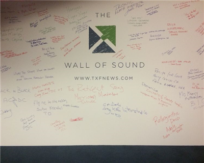 The TXF Wall of Sound