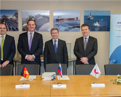 Sovcomflot secures finance for LNG carriers