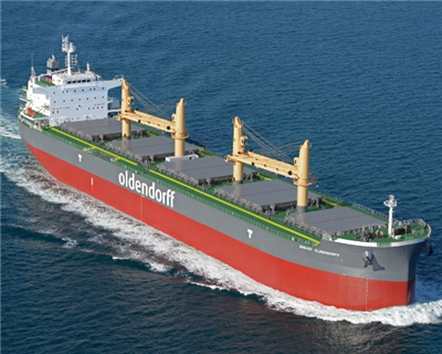 JBIC and Deutsche Bank provide loans for Oldendorff Carriers