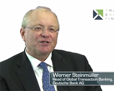 Video Interview: Werner Steinmueller, Global Head of Transaction Banking, Deutsche Bank
