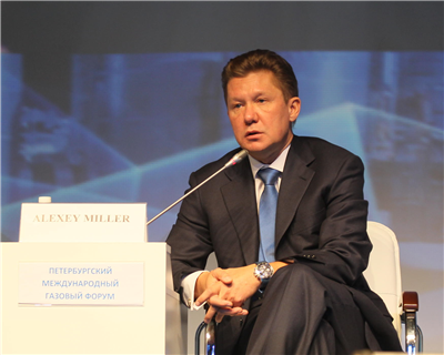 Gazprom's Alexey Miller provides an overview of the global gas market outlook