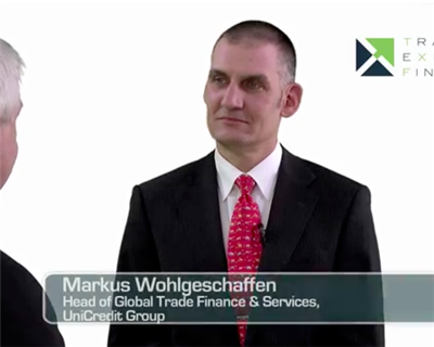 Video Interview: Markus Wohlgeschaffen, Head of Global Trade Finance and Services, Unicredit