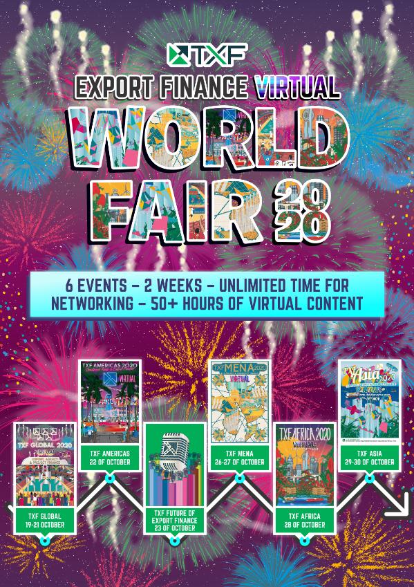 TXF Export Finance Virtual World Fair 2020