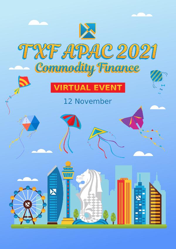 TXF APAC Commodity Finance 2021 Virtual
