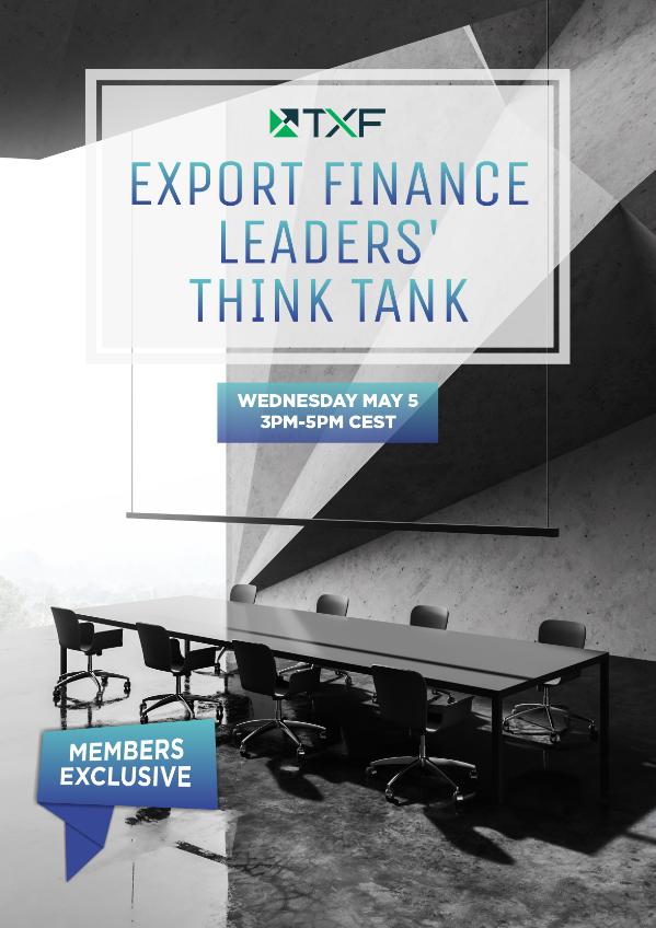 Export Finance Leaders' Think Tank