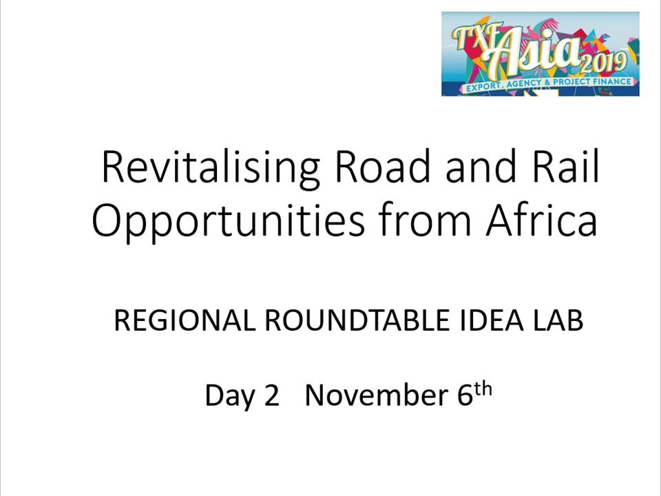 Day 2, 1150, Stream 1, Reigonal Roundtable Africa