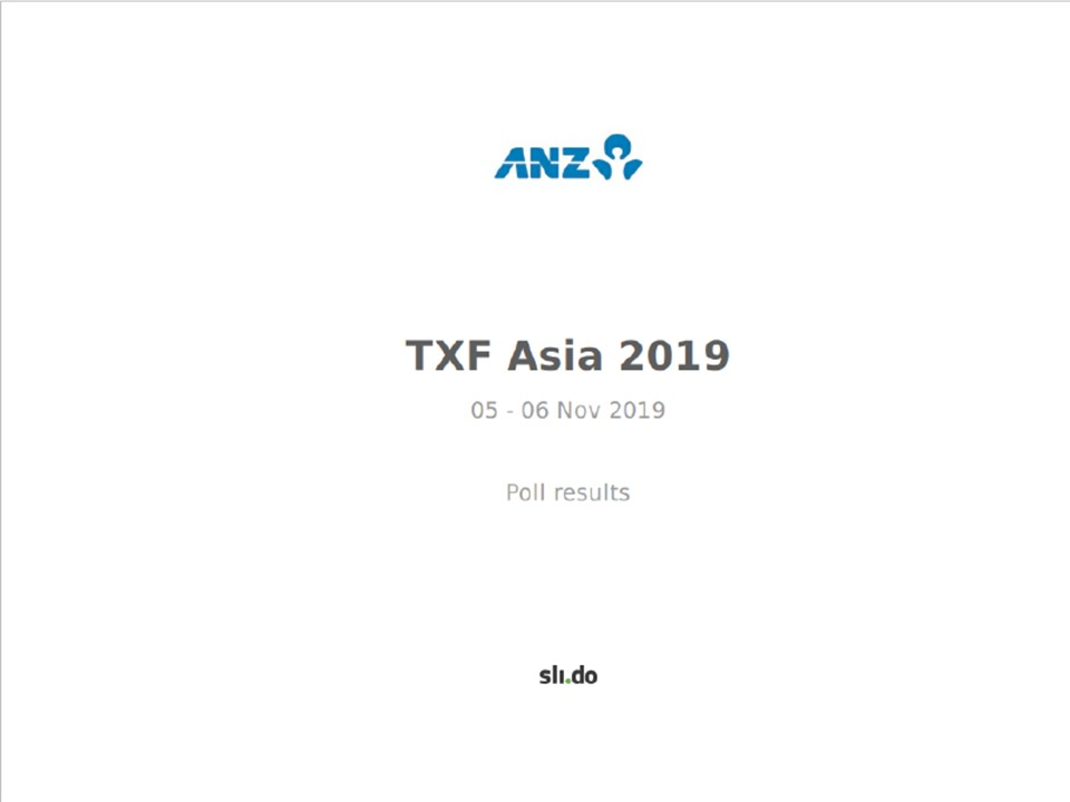 TXF Asia 2019 ARS, day 1 and 2