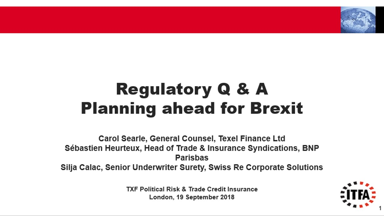 Regulatory Q&A: Planning Ahead for Brexit