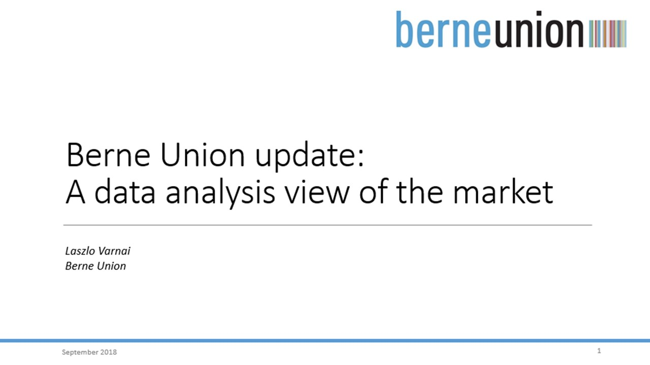 Berne Union Update: A Data Analysis View of the Market